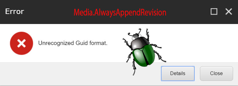 Always Append Revision